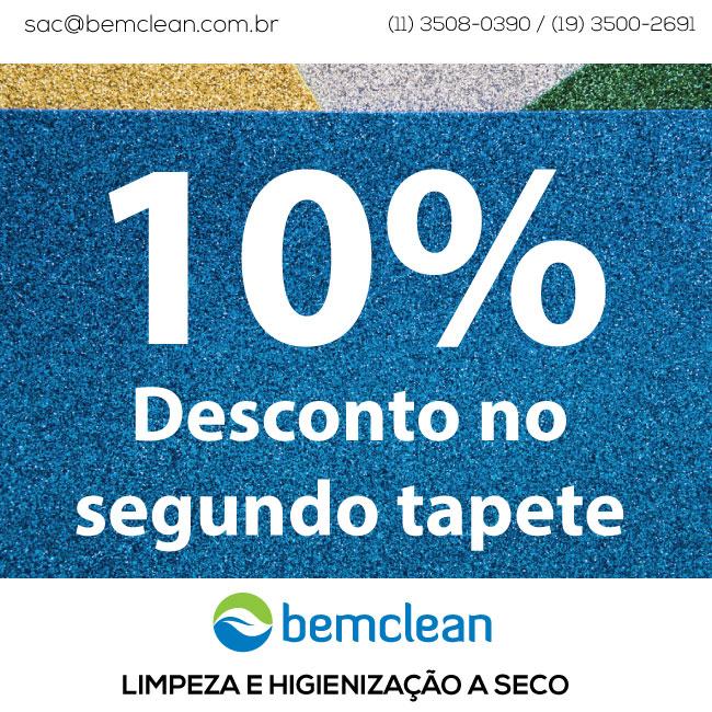 Promoção Limpeza de Tapetes a seco